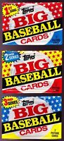 SERIES 1 2 3 LOT: 1989 TOPPS BIG WAX PACKS CAL RIPKEN, JOHNSON, GWYNN, MCGWIRE +