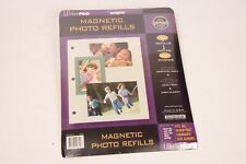 Ultra PRO Magnetic Photo Refills - 10 Refills - 8.5 x 11 - Archival Safe- Sealed