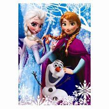 Disney La Reine Des Neiges Elsa Anna Olaf A4 Bloc Note Livre Enfants Amusement