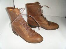 JUSTIN ROPER Granny Grunge Vintage Boots Size 5.5 Women(RUN BIGGER) 6 OR 6.5