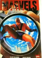 Marvels 1A 1st Print TPB 1994 Trade Paper Back Ant-Man Kurt Busiek Alex Ross VF+