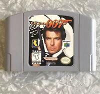 N64 Goldeneye 007 James Bond Nintendo 64 Cartridge Cleaned & Tested AUTHENTIC