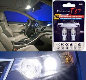 LED 5050 Light White 6000K 168 Two Bulbs Front Side Marker Parking Upgrade Fit