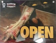 Harrow County American Gods Promotional 11x8.5 Open/Close Sign (Dark Horse 2017)