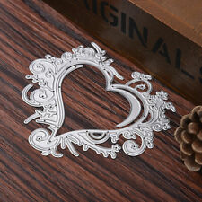 Lace Heart Metal Cutting Dies Stencil For Scrapbooking Embossing Card Decor DIY
