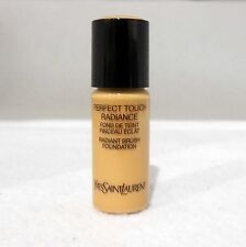 YVES SAINT LAURENT PERFECT TOUCH RADIANT BRUSH FOUNDATION 10ML SHADE #7 NEW (T)