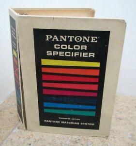 Vintage Pantone Color Specifier Matching System Book, 3 ring Hardback