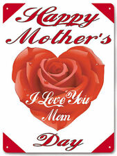 Mother's Day Metal Sign beautiful deep colors with a retro look wall decor 595