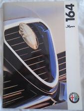 Alfa Romeo 164 Super brochure Apr 1993