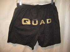 Manheim Pennsylvania Auto Auction THE QUAD Black Gold Letter Boxer Shorts XL