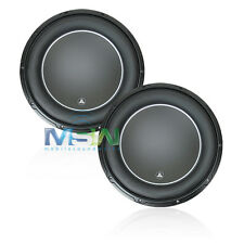 "(2) *NEW* JL AUDIO 12W6v3-D4 12"" W6v3 SUBWOOFERS 4-OHM DVC CAR WOOFERS SUB PAIR"