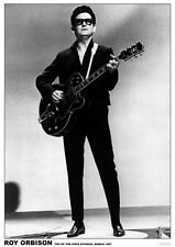 "Roy Orbison - Top Of The Pops Retro Poster A1 Size 84.1cm x 59.4cm | 33"" x 24"""