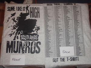 MUNRO BAGGERS T-SHIRT SCOTLAND SCOTS SCOTTISH