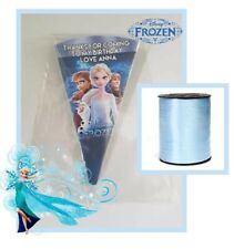 10 x FROZEN 2 personalised DIY/party bags/sweet cones/kit/ birthday boys girls