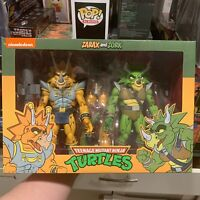 NECA TMNT Captain Zarax and Zork 2-Pack Teenage Mutant Ninja Turtles IN HAND