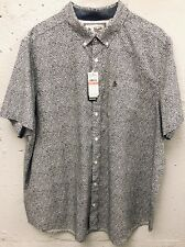New Original Penguin Short Sleeve Floral Print Shirt Size 3XL - New With Tags