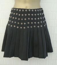 H&M Short/Mini Polyester Pleated, Kilt Skirts for Women