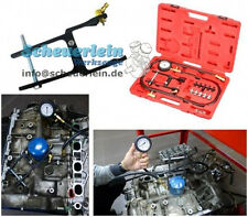 Profi Öldruck- Messgerät Tester Manometer + 10 Adapter + Ölfilteranschluss