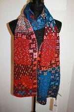 Écharpes et châles rouge à motif Géométrique pour femme