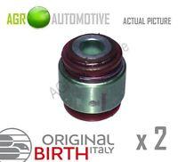 2 x BIRTH REAR AXLE CONTROL ARM WISHBONE BUSH PAIR OE QUALITY REPLACE 2165