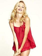 Knickerbox Lola Red Chiffon Cami & Thong Sz 10 X 30 Sets *Wholesale*