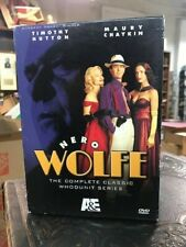 Nero Wolfe - The Complete Classic Whodunit Series (Dvd, 2006, 8-Disc Set)