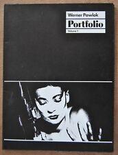Werner Pawlok Portfolio Volume 1 Mappenwerk signiert 1984 38/80 5 Fotographien