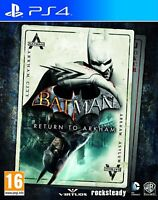 Batman - Return to Arkham For PS4 (New & Sealed)