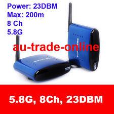 5.8 GHz wireless AV sender receiver IR remote 200m 8ch 23DBM