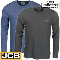 JCB Work Wear Trade Base Layer Long Sleeve T Shirt Top Under Garment Warm Comfy
