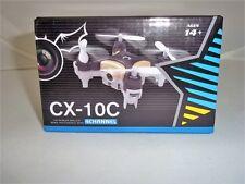 Cheerson CX-10C 2.4 G 4CH 6-Axis Gyro RC Quadcopter MINI drone RTF CON VIDEOCAMERA