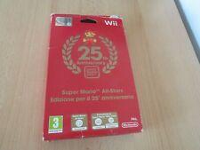 Nintendo Wii SUPER MARIO ALL STARS 25TH ANNIVERSARY EDITION PAL italian