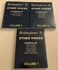 Babylon 5: Other Voices - 3 Volume Set - Sealed - J. Michael Straczynski