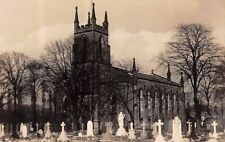 Cheshire - NORBURY, Church, Hazel Grove, Stockport - Real Photo