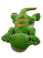 "Webkinz Ganz Lemon-Lime Gecko plush 15"" HM200 Stuffed Animal no code lizard"