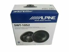 """Alpine SWT-10S2 10"""" Truck Subwoofer 2-ohm voice SWT10S2 NEW ONE UNIT SHIP FAST"""