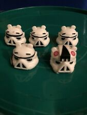 Star Wars Angry Birds Telelpods Stormtrooper Lot (5) Series One. No QR Code.