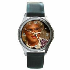 Madea watch (round metal wristwatch)