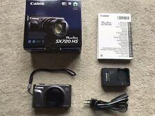 Appareil photo numérique CANON  SX 720 HS comme neuf zoom optique X40