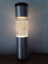 Belle Lampe à paillettes cylindrique  Des années 70's     100% vintage
