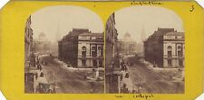 Londres London Cockspni street UK Stereo Stereoview Vintage albumine ca 1860