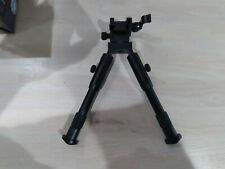 Tactical bipod picatinny w/swivel, quick release picatinny, 6 to 7 in legs