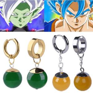 Vegetto Potara Black Son Goku Zamasu Ear Stud Earrings Earring Cosplay