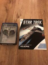 More details for eaglemoss star trek issue 84 - ue starfleet nx-alpha, diecast model & magazine