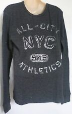 Mens AEROPOSTALE Locker Stock Long Sleeve All-City Nyc Thermal Size S NWT #5259