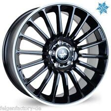 KESKIN KT15 SPEED 8,5 x 19 Zoll ET 45 5x112 Black Lip Polish (BLP) Alufelgen