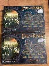 Warhammer Games Workshop Lotr Hobbit Mordor Orcs 2 Boxes New X48