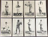 1917 Colins-McCarthy Washington Senators E-135 Complete Team Set (14) W. Johnson