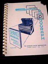 Seeburg USC1 Jukebox Service manual