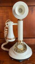 Candlestick Telephone Cream American Telecommunication Corp Beautiful